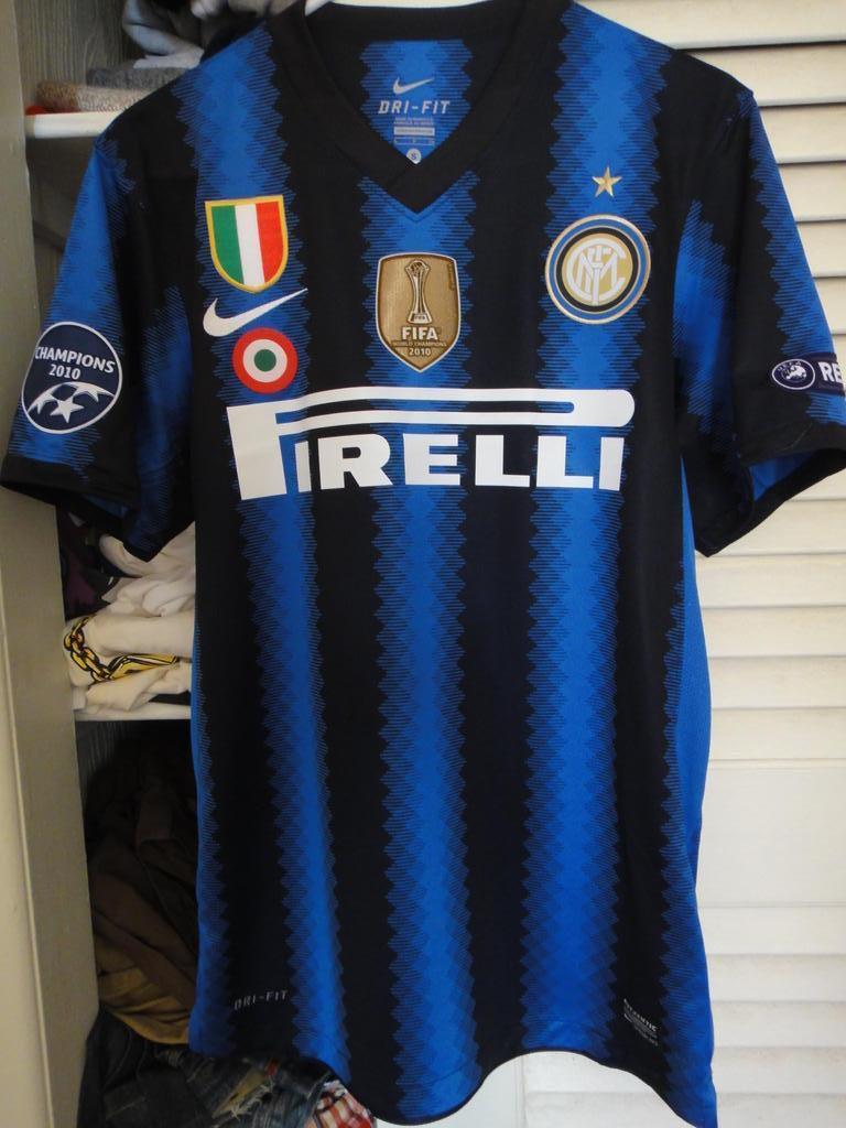 Inter Milan 2010 11 Special Kit