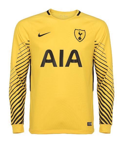Camisa De Goleiro Principal Tottenham Hotspur 2017 18