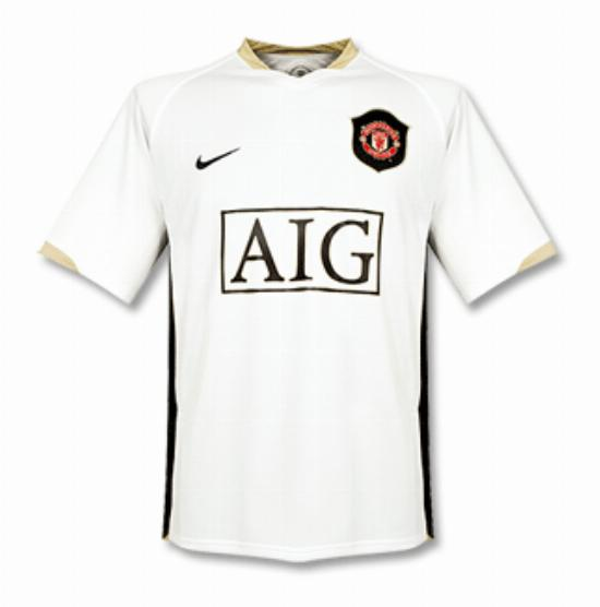 Manchester United 2007 08 Third Kit