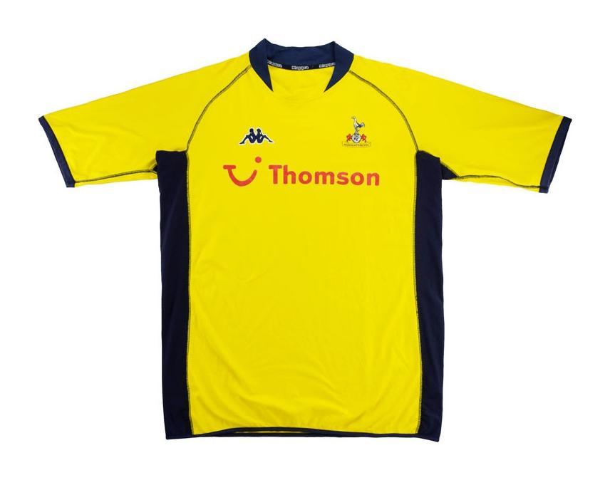 Tottenham Hotspur 2002 03 Third Kit