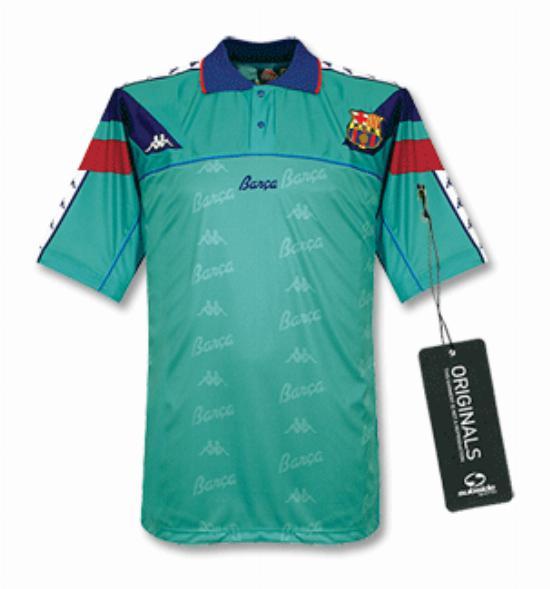 Fc Barcelona 1992 93 Away Kit