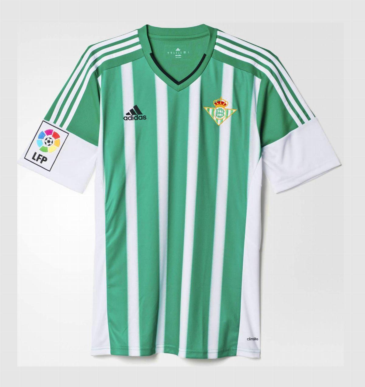 Real Betis 2015 16 Home Kit