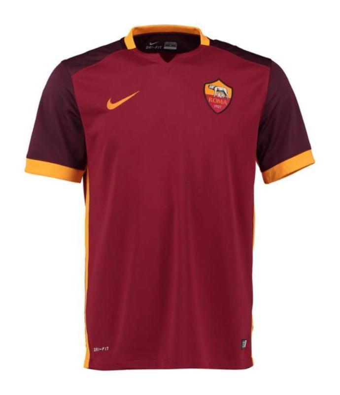 Prima Maglia AS Roma 2015-16