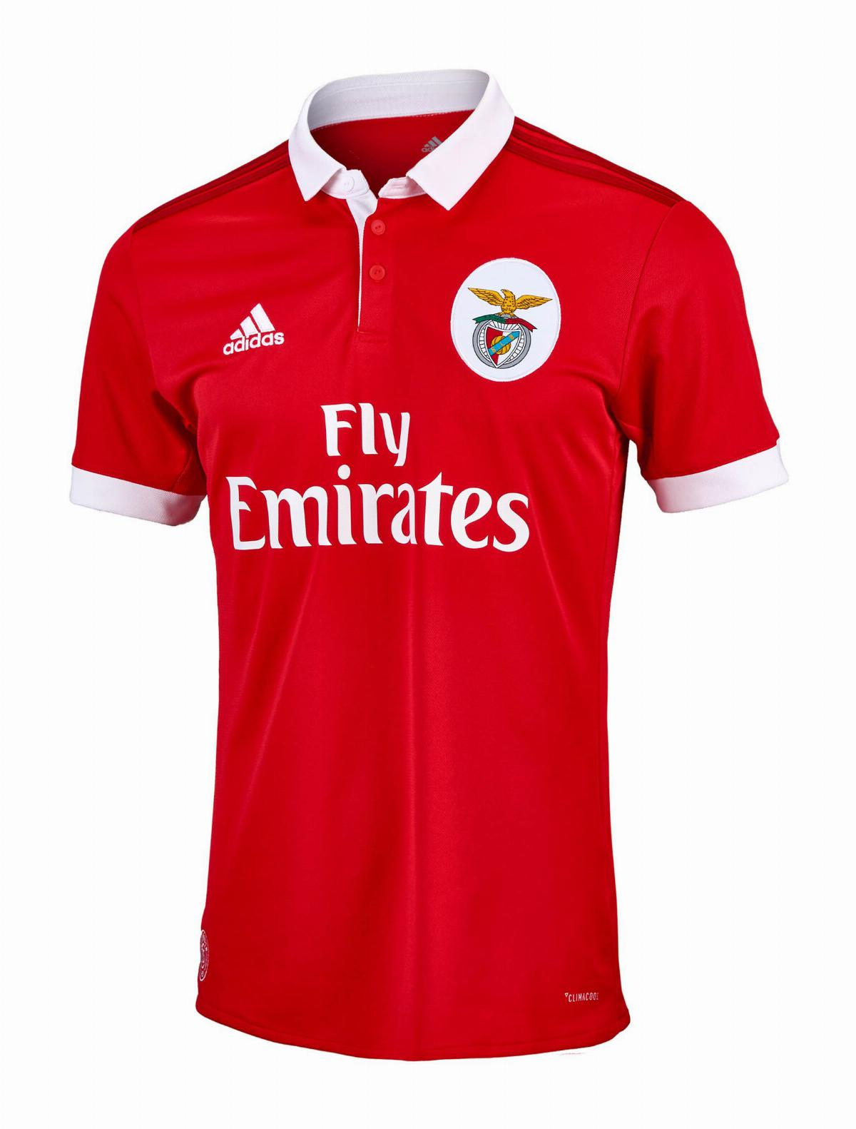 SL Benfica 2017-18 Home Kit