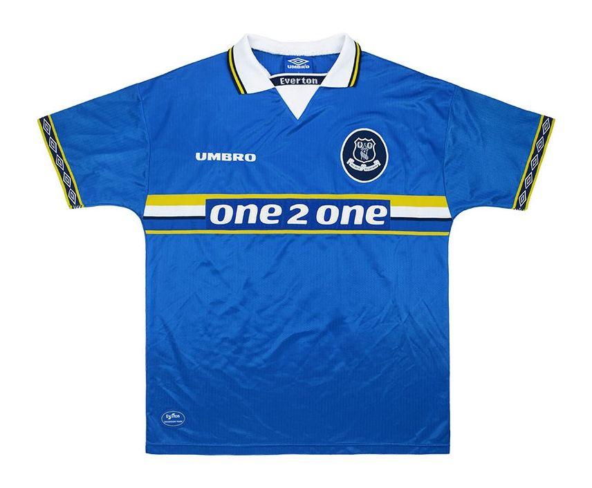 Everton 1998 99 Home Kit