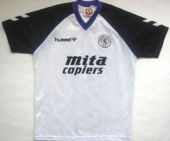 Aston Villa 1989 90 Away Kit