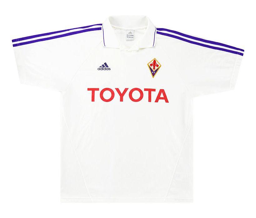 Details about Retro Adidas Fiorentina football shirt and