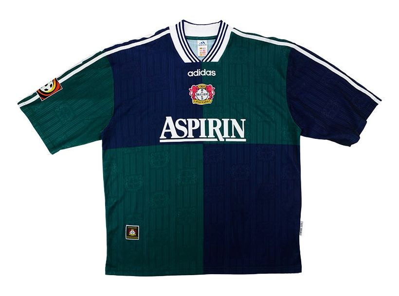 Seconda Maglia Bayer 04 Leverkusen 1997-98