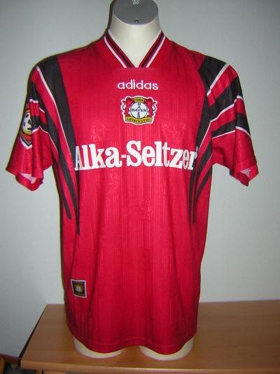 Prima Maglia Bayer 04 Leverkusen 1996-97
