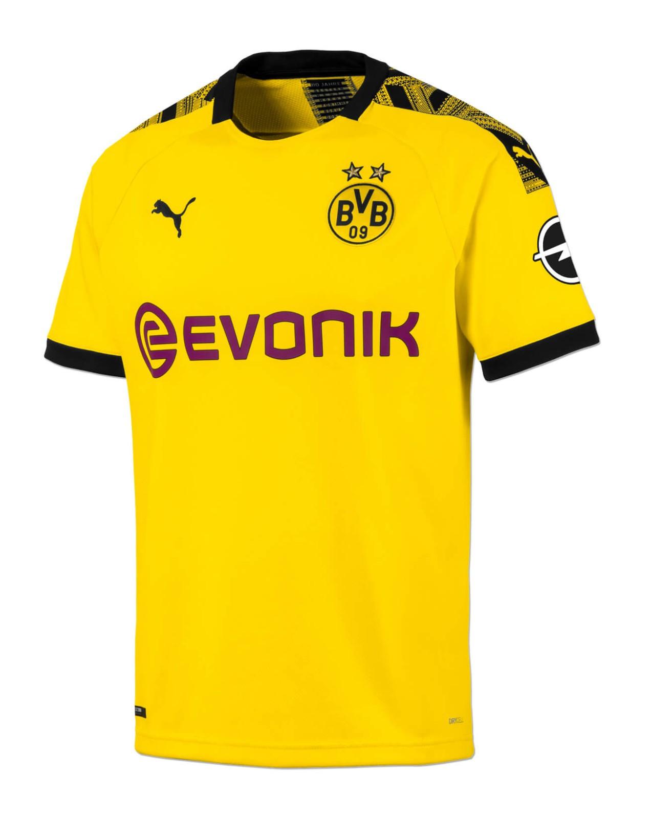 Borussia Dortmund 2019 20 Home Kit