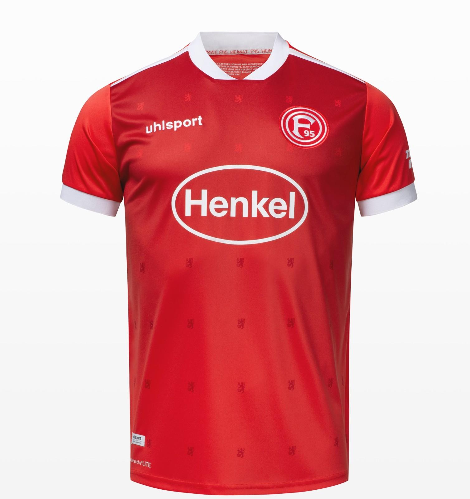 Fortuna Dusseldorf 2020 21 Home Kit