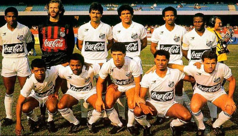 Camisa Titular Santos 1989