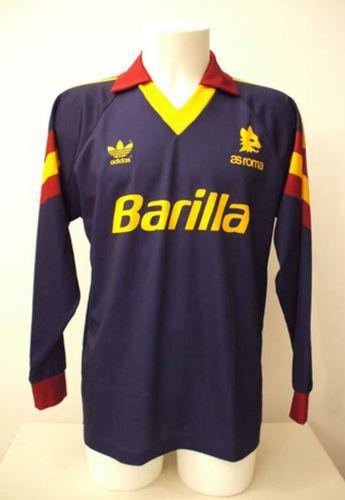 Christchurch pasos conversacion  AS Roma 1991-92 Third Kit