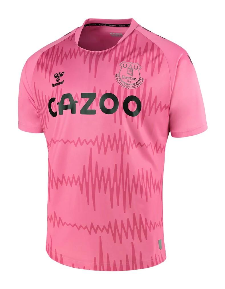 Seconda Maglia da Portiere Everton 2020-21