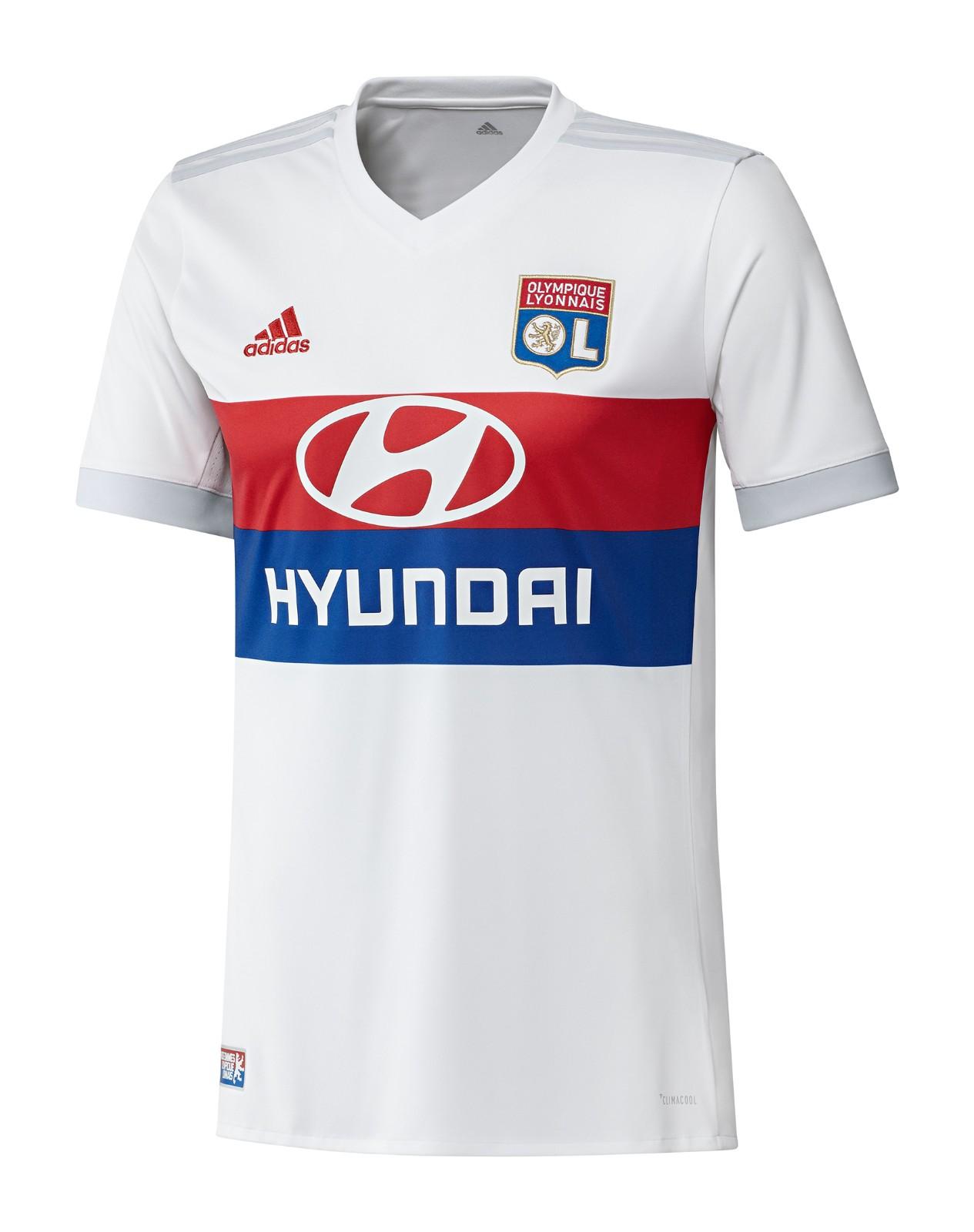 Prima Maglia Olympique Lyon 2017-18