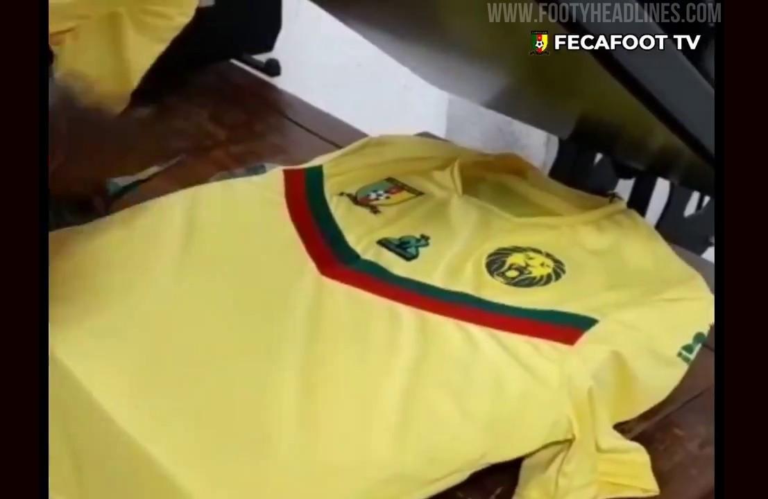 Cameroon 2021 Away Kit