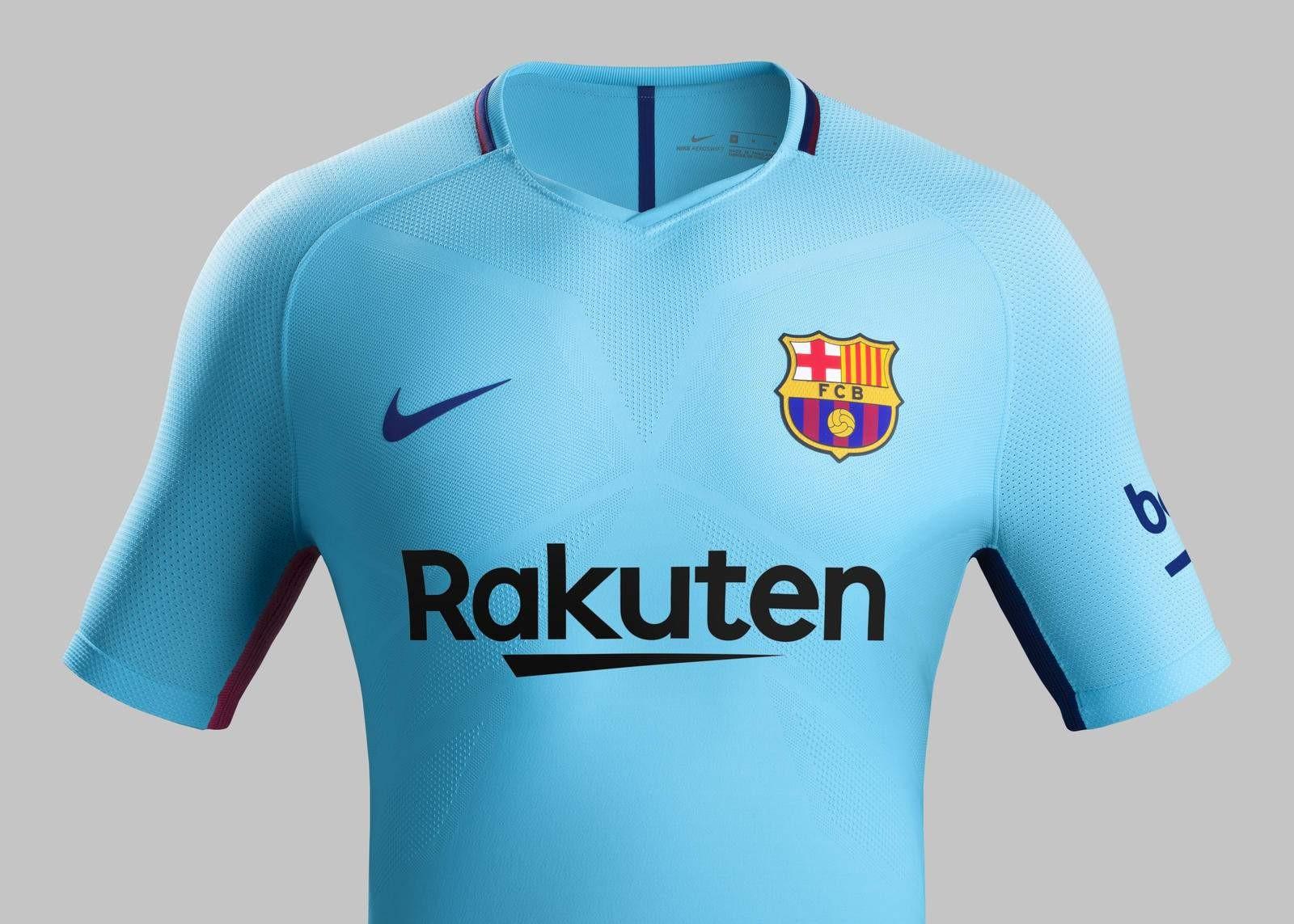 Seconda Maglia FC Barcelona 2017-18