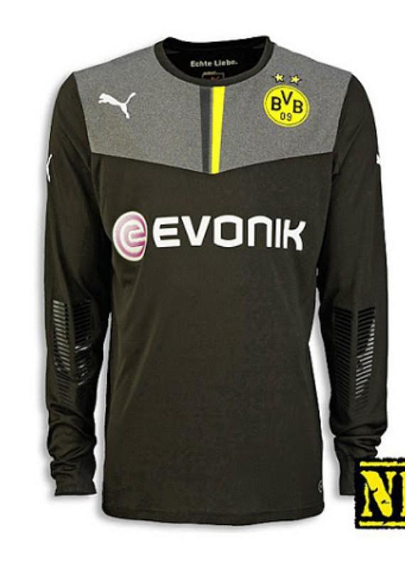 Seconda Maglia da Portiere Borussia Dortmund 2013-14