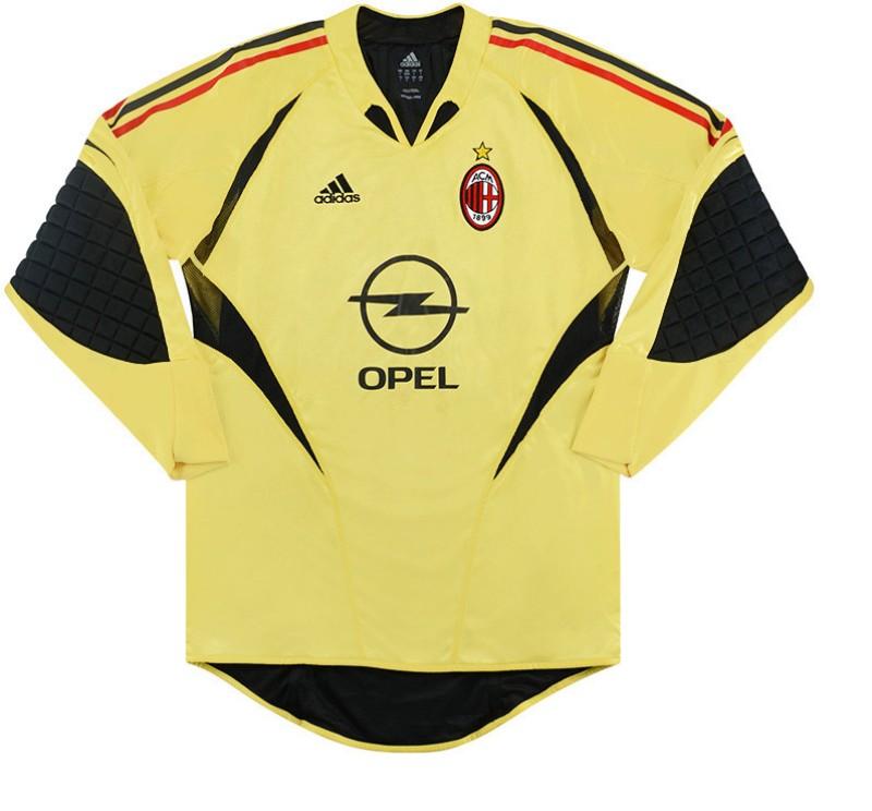 Seconda Maglia da Portiere AC Milan 2004-05