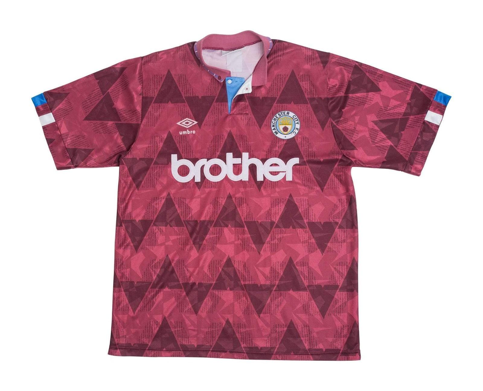 Manchester City 1990-91 Away Kit