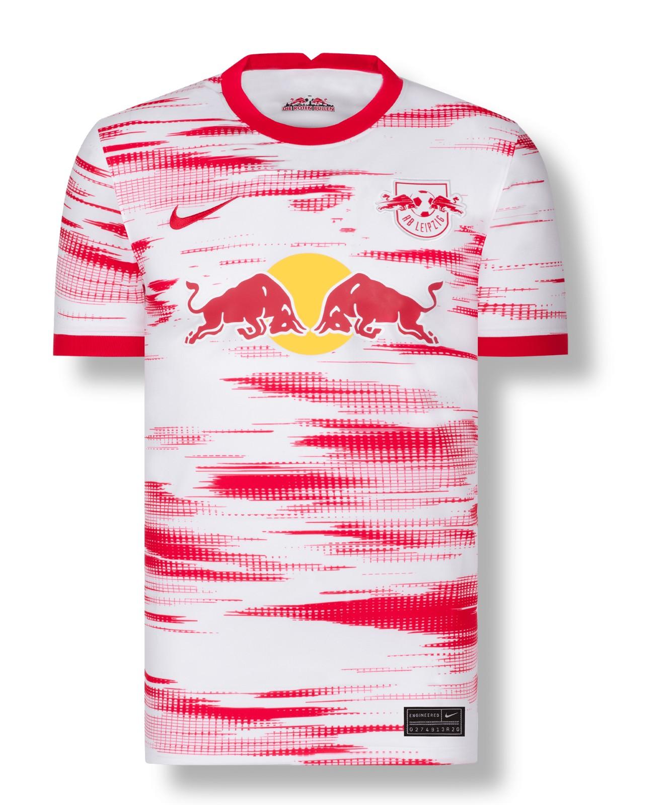 Prima Maglia RB Leipzig 2021-22