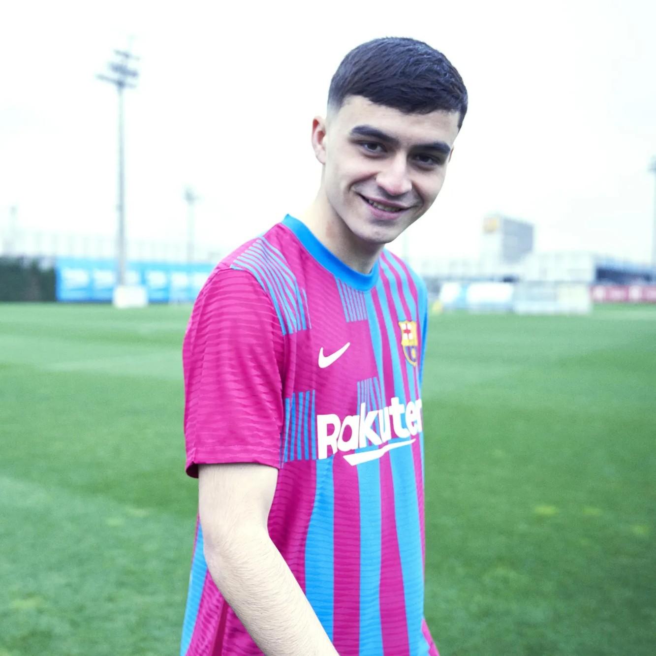 Fc Barcelona 2021 22 Home Kit