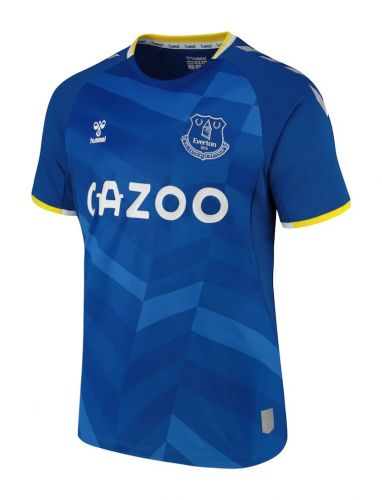 Everton 21-22 Home & Goalkeeper Kits Released - Footy Headlines