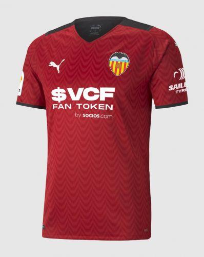 Valencia 2021-22 Away Kit