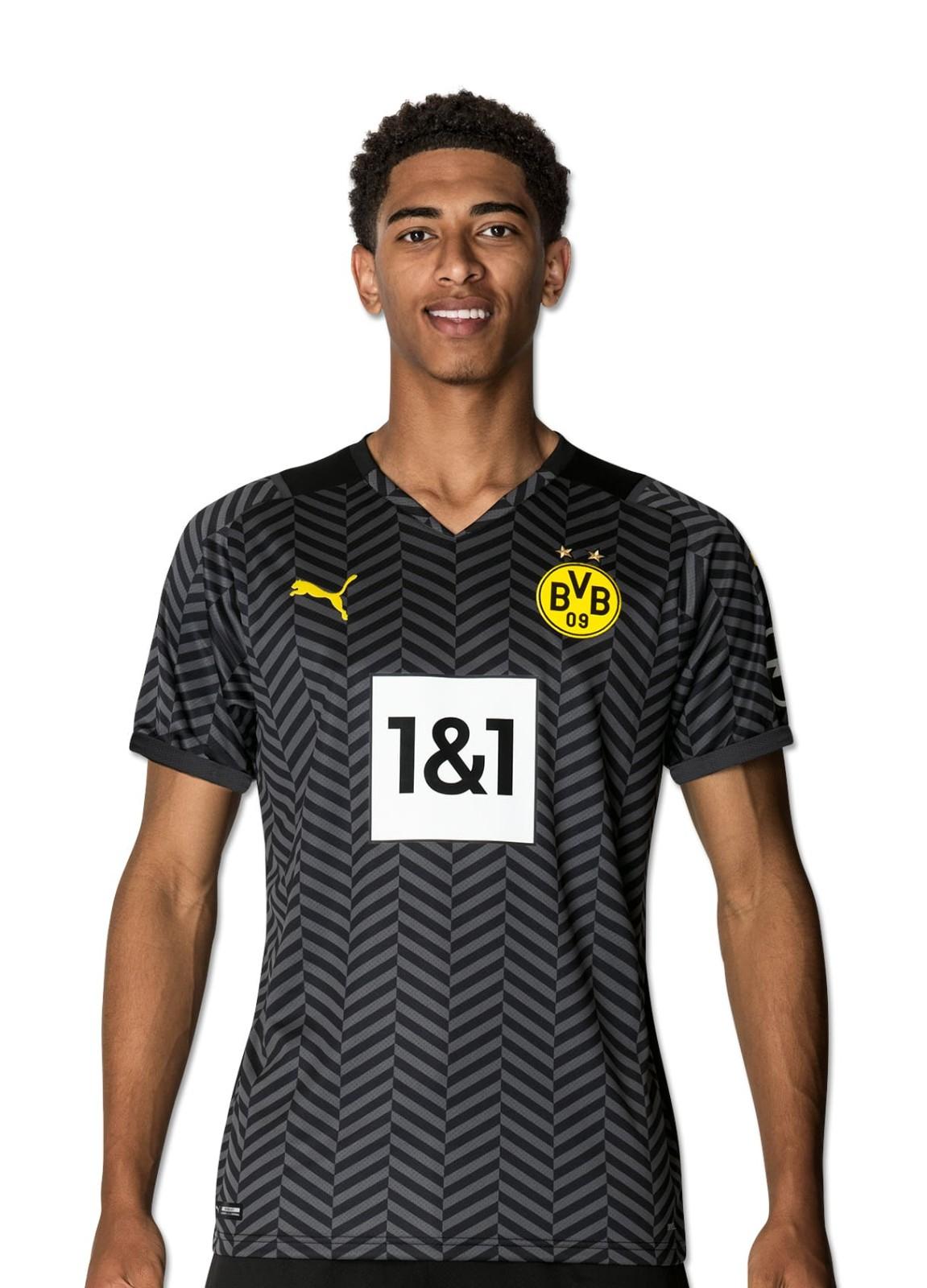 Borussia Dortmund 2021 22 Away Kit